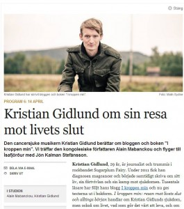 Kristian Gidlund gästar Babel den 14/4 kl 20.