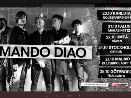 Mando Diao på turné