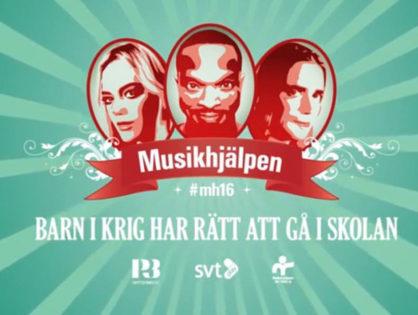 Grattis Umeå! Musikhjälpen kommer till er!