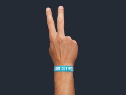 Dela ett festivalarmband på Way Out West