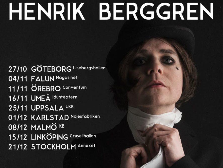 Henrik Berggren på höstturné